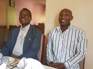 Scaver (left) is the TEI Coordinator and Darius is the Chairman. They are totally committed to improving the prosperity and well-being of everyone in the local community