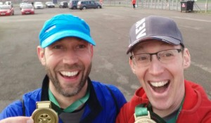 Tim and Mark are understandably delighted!