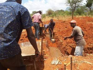 Laying the foundations for the new children's home